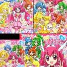 (Set #11) Smile PreCure Coloring Book Set