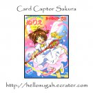 Card Captor Sakura Coloring Book 01
