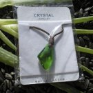 Wishing Stone Crystal Pendant ~ Green