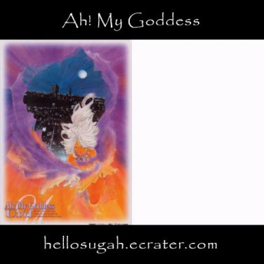 Ah! My Goddess Shitajiki #4 (Urd)