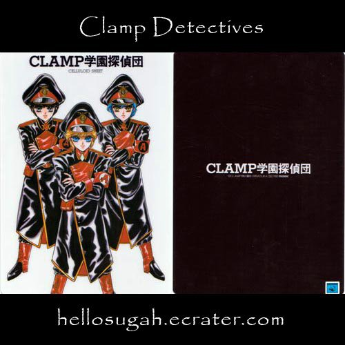 Clamp Shitajiki #12 (Clamp Detectives)