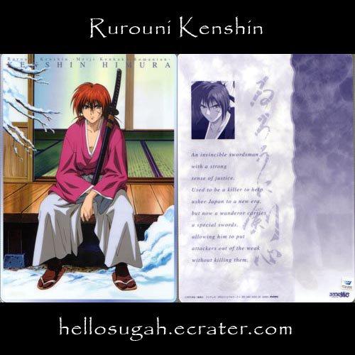 Rurouni Kenshin Shitajiki #03