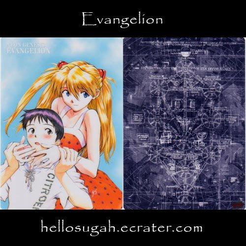 Evangelion Shitajiki #11