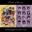 Flame of Recca Shitajiki #1