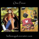 One Piece Shitajiki 01 Luffy