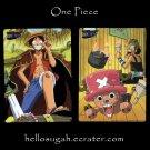 One Piece Shitajiki 01 Luffy