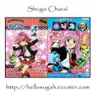Shugo Chara! Coloring Books + Stickers + Memopad + Origami
