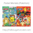 Pokemon Coloring Book Set #09