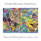 Pokemon Coloring Book Set #13