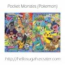 Pokemon Coloring Book Set #13