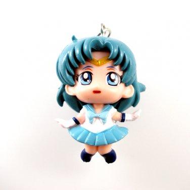 Sailor Moon Key Chain ~ 3D Sailor Mercury