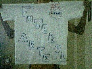 Futebol Arte camisetas