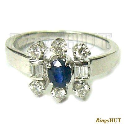 Diamond Ring, Ladies Ring, White Gold Diamond Ring
