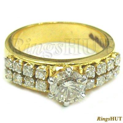 Natural Diamond Ring, Diamond Engagement Ring, Ladies Ring