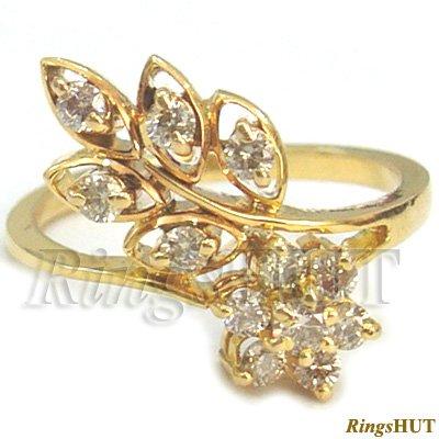 Diamond Ladies Ring, Gold Diamond Ring