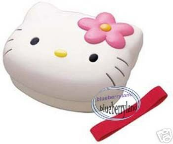 Sanrio Hello Kitty Bento Lunch Box Food Container Microwave OK