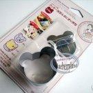 Japan SUSHI Rice Mold set Bear shape Cookie cutter