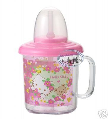 Sanrio HELLO KITTY Baby Straw Cup mug 210ml kids child