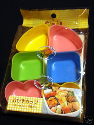 Japan Bento Lunch Side Dish Cup Food Cups 6 Pcs