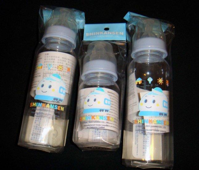 Sanrio Shinkansen Baby feeding Bottle set 3pc gift item
