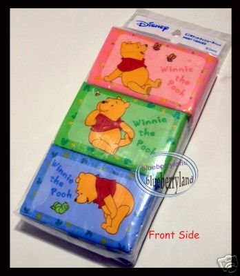 6 packs Disney Winnie the Pooh Tissue Paper pack women kids