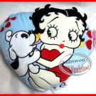 BETTY BOOP Heart Cushion Pillow bedroom women ladies girls