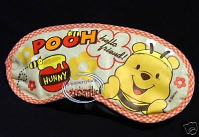 Disney Winnie the Pooh Eye Mask Blindfold Sleep rest travel