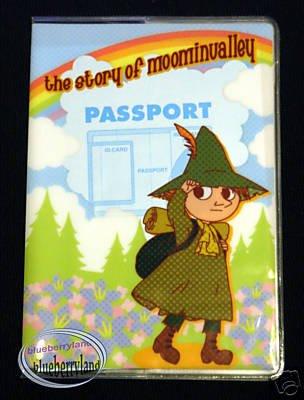 Moominvalley Snufkin Passport Holder cover