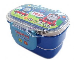 thomas friends 2 tier bento lunch box container boys. Black Bedroom Furniture Sets. Home Design Ideas