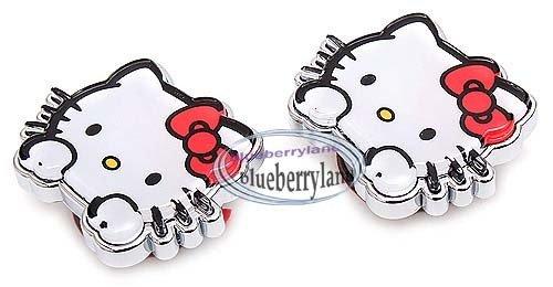 Sanrio Hello Kitty Car License Plate Decor Charm