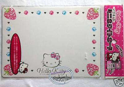 Sanrio HELLO KITTY Kitchen White Magnetic Board fridge