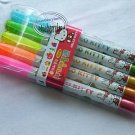 Sanrio Hello Kitty Hightlight Marker Pen stationery x 5 Pcs