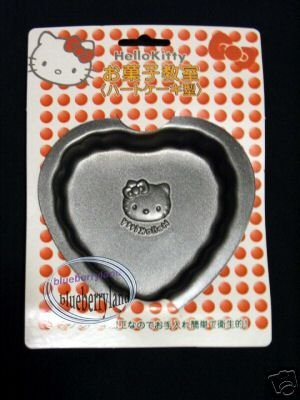 2 Pcs Sanrio HELLO KITTY Pudding MOLD Jelly Jello Mould Heart Valentine