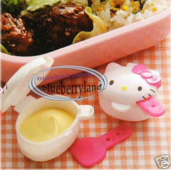 Sanrio Hello Kitty Sauce Dressing Case 2 Pcs bento lunch box