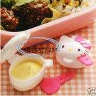 Sanrio Hello Kitty Sauce Dressing Case 2 Pcs bento lunch box