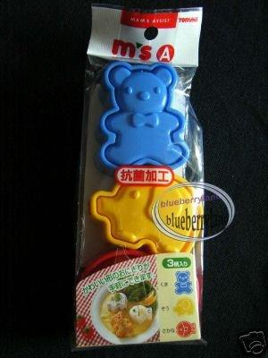 Japan SUSHI Animal Bear Fish Elephant Rice Mold Maker