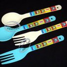 Thomas & Friends Fork Spoon set Bento access cutlery 4p