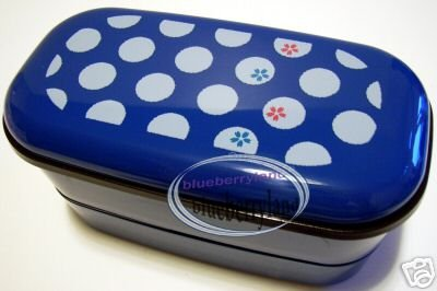 Japan Bento Lunch Box Food Container Polka Dots Microwave OK