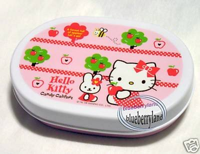 Sanrio Hello Kitty Microwave Baby Snack Bento Lunchbox Food Container Lunch Box