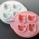 Sanrio Hello Kitty Cake Biscuit Cookie Bakery Mold microwave OK