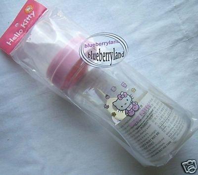 Sanrio HELLO KITTY Pink Baby bottle 240ml milk juices