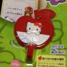 Sanrio HELLO KITTY Adhesive red APPLE Hook home kitchen