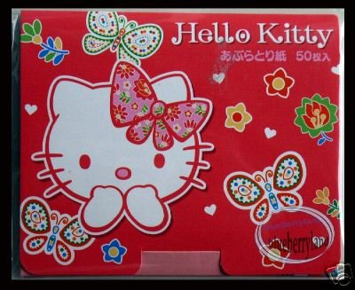 Sanrio Hello Kitty 50 PCS Face Oil Absorbent Paper