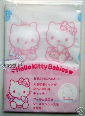 Sanrio Hello Kitty Paper Baby Bibs Set of 3 Pieces