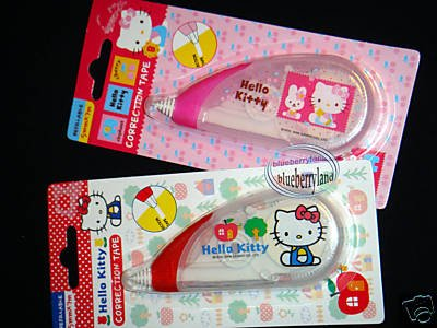 Sanrio Hello Kitty Correction tape school office stationery x 2 Pcs