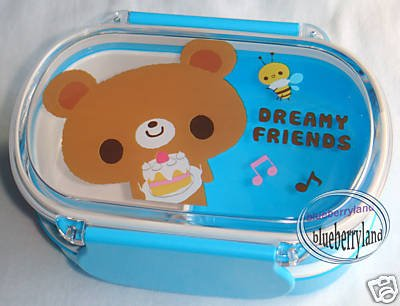 Japan Microwave 2-Tier Bento Lunch Box Food Container B