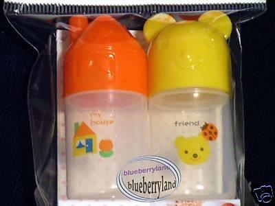 Japan Bento Seasoning Furikake Bottles Cylinder case  x 2 Pcs