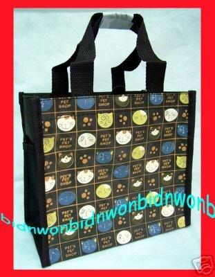 Cat Handbag School Lunchbox Bag Tote Lunch Box Bags Purse