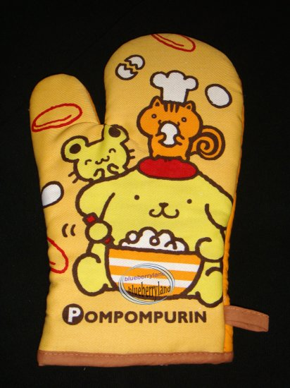 Sanrio Pompompurin Oven Mitt for Adult kitchen cooking