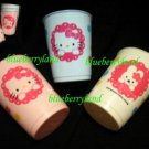 3 Pcs Sanrio Hello Kitty Children Plastic Drinking Cup
